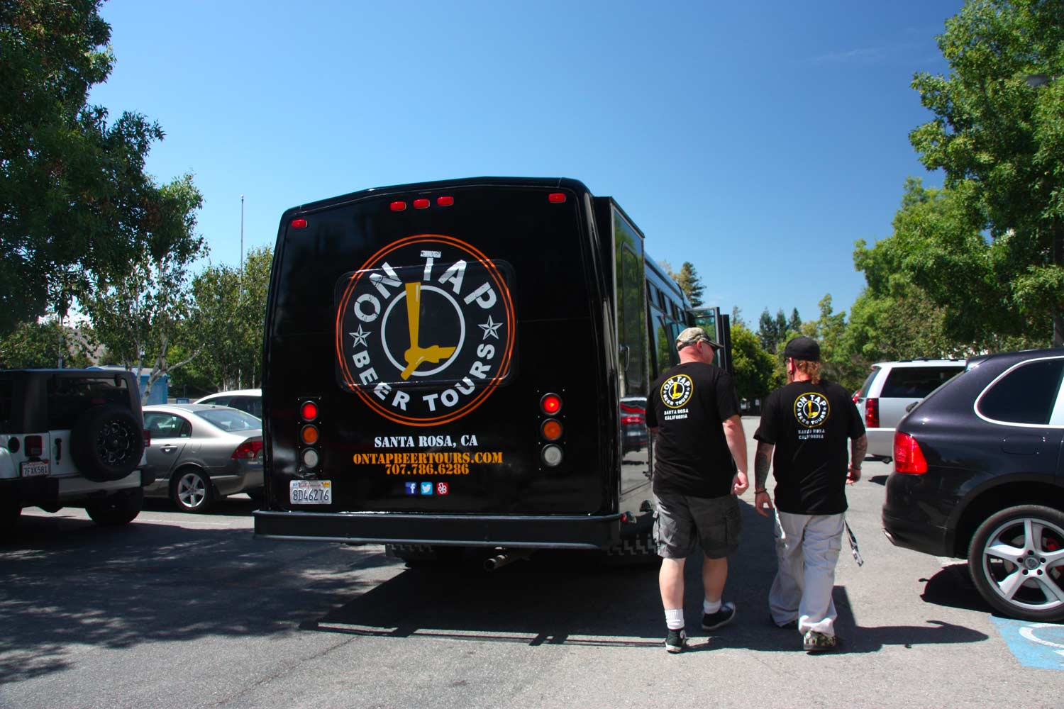 On Tap Beer Tours Vehicle